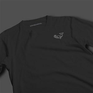 服装品牌VI文化衫T恤样机