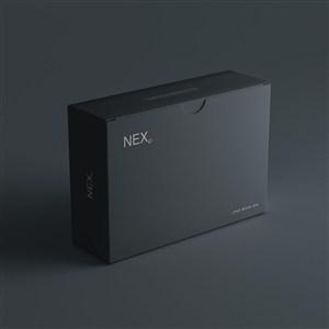 黑色纸盒包装样机