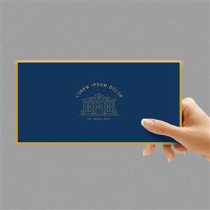 酒店VI手拿卡片贴图样机