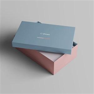 代开的盒子纸盒鞋盒包装样机