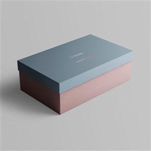纸盒鞋盒包装样机