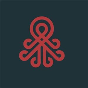 红色标志图标矢量公司logo素材