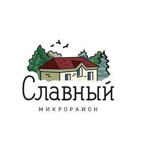 房子树飞鸟标志图标矢量logo设计素材