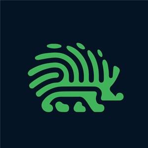 刺猬标志图标网络科技公司矢量logo素材