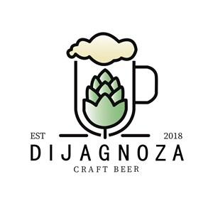酒杯麦子标志图标矢量logo素材