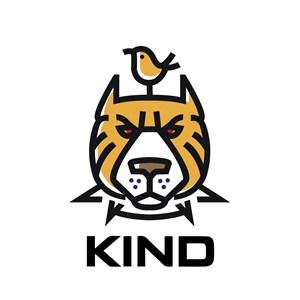 老虎鸟标志图标公司矢量logo设计素材