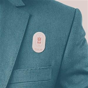 酒店品牌VI胸卡贴图样机