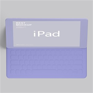 紫色苹果ipad贴图样机