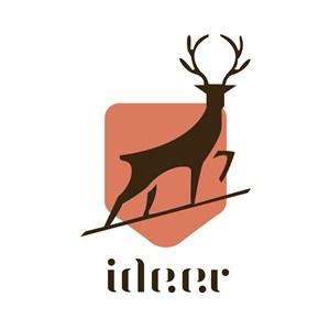 鹿标志图标矢量logo素材