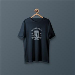 T恤文化衫贴图样机