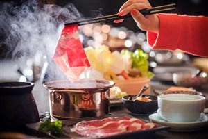 烫牛肉四川火锅图片