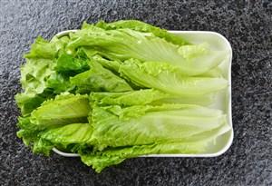 高清生菜盘装蔬菜图片