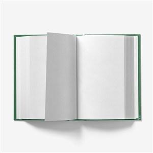 精装书本翻页效果样机