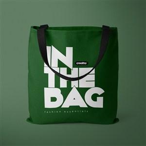 绿色环保购物袋样机
